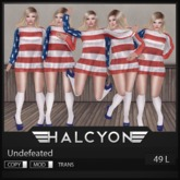 Halcyon - Undefeated [25L IN WORLD]