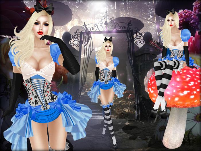 Boudoir-Alice in Wonderland