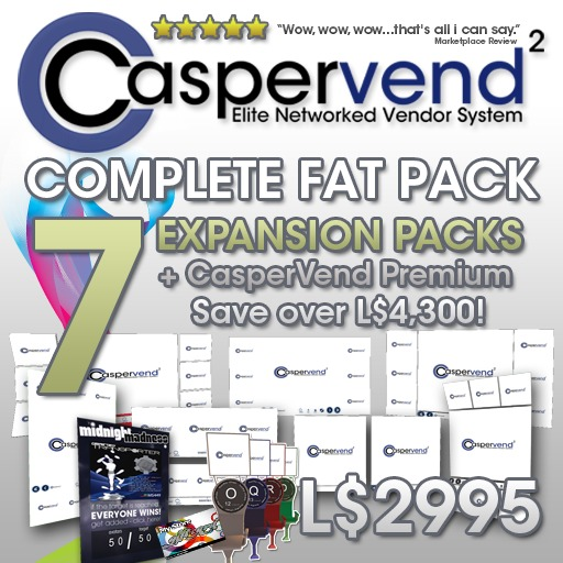 CasperVend² Complete FAT PACK - Massive saving! Vendor Boards Vendors