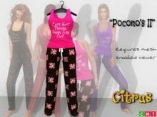*Citrus* Pocono's Cute but Psycho Pajama's