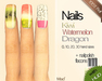 Mad' - Fruit Nails v2 - (Pack 3 Colors)