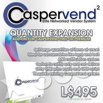 "CasperVend² QuantityVendor Expansion Pack v2.11 ""Test"""