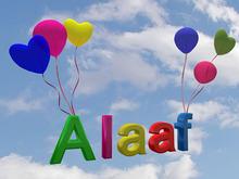 """Sign """"Alaaf"""" for Carneval / Mardi Gras"""