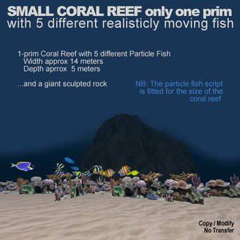 SMALL CORAL REEF only one prim