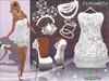 MESH White Princess Outfit FashionNatic