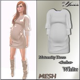 Maternity Dress <Sasha>  White