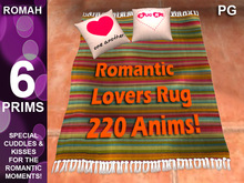 GIFT -  Romantic Lovers Rug *220 Animations! PG