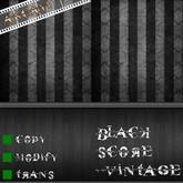 [ ANCAYI ] black score vintage texture