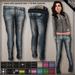 DN Mesh: Skinny Jeans/Belt - Warm