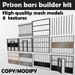 L.A. Prison Bars Builder kit