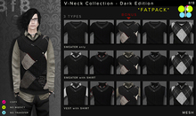 DARK V-Neck Collection FATPACK