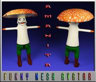 AMANITA-MESH-AVATAR
