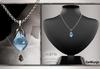 GeWunjo : FINETTA aquamarine necklace