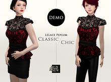 (O&N) LeLace Peplum (DEMO)
