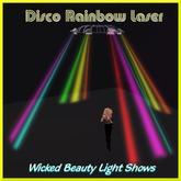 Disco Rainbow Laser