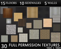 sidewalks, floors & walls by casa D.
