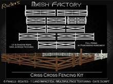 Riders Mesh Factory- Criss Cross Fencing Kit - Full Perms with Purchase Agreement