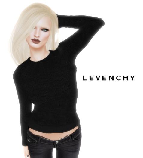 LEVENCHY - Noir Sweater [Demo/Gift] [Female]