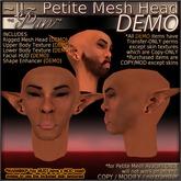 ~JJ~ Petite Male Head ~Pan~ DEMO