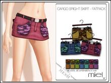 MIEL CARGO SKIRT BRIGHT - FATPACK (MESH)