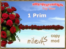 milevA's 1-Prim Multi 16 Line Red Rose Gala