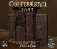 Dark Monk Mesh Confessional - 1657