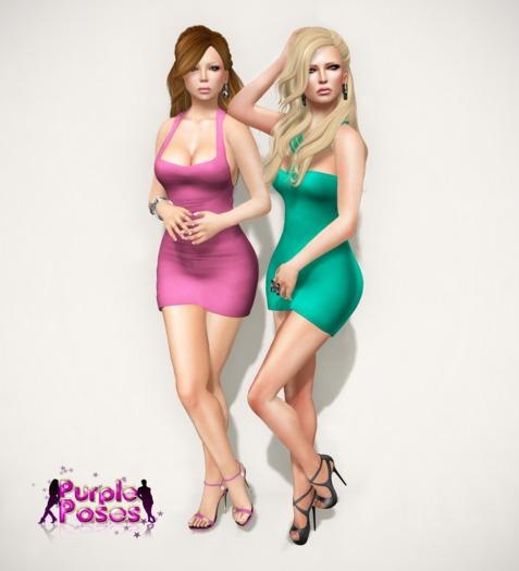 PURPLE POSES - Friends 63