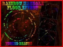 Rainbow Mandala Floor