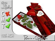 Rose in a Gift Box MT 100% original mesh