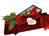 Rose in a gift box 04