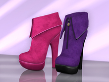 BAX Foxy Boots Purple