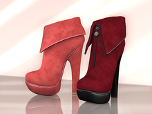 BAX Foxy Boots Red
