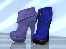 BAX Foxy Boots Blue
