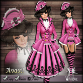 [Wishbox] Avast! (Pink) - Pirate Dress - EGL Captain Outfit Costume