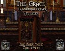 DM The Grace  Prayer Kneeler -Red
