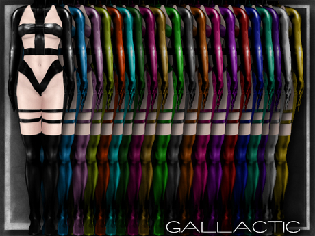 GALLACTIC: Element Solid Latex Cyberwear - All Colors