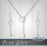 ::: Krystal ::: Pure Love - Jewelry Set - Gold