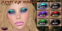 .:Glamorize:. Punch Eye Makeup - 6 Colors