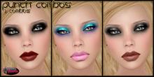 .:Glamorize:. Punch Combos 3 Tattoo Makeup Combos