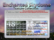 Turnip's Skydome: Enchanted Texture Collection