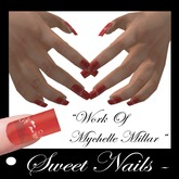 Long Nails 20 colored Romantic Collection