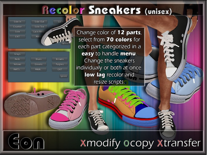 Recolor Sneakers (female) .:: EON ::.