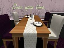 Once upon time... Sweet Dinner Room Purple&Cream