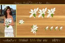Harmony Bridal Bouquet Set  - Ivory