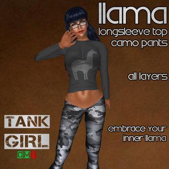*TG* - Llama Top and Pants