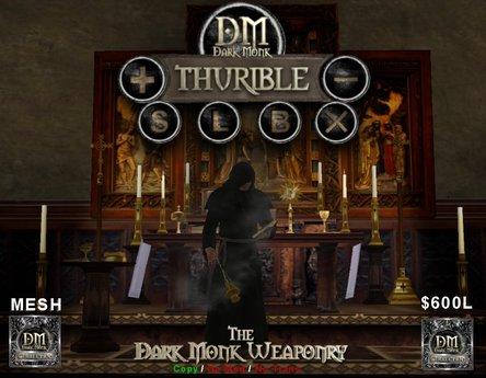 DM Thurible (Censer) Set with Hud