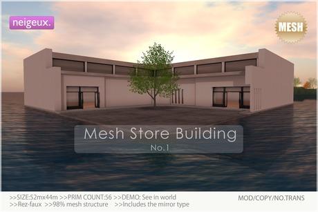 :neigeux: Mesh Store Building No.1