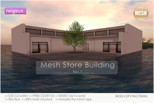 :neigeux: Mesh Store Building No.1