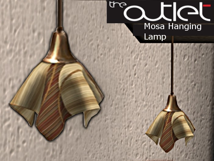 Outlet*-* Mosa Hanging Lamp