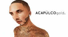 ::theACAPULCOgold.::_Facial Hair_2 Black